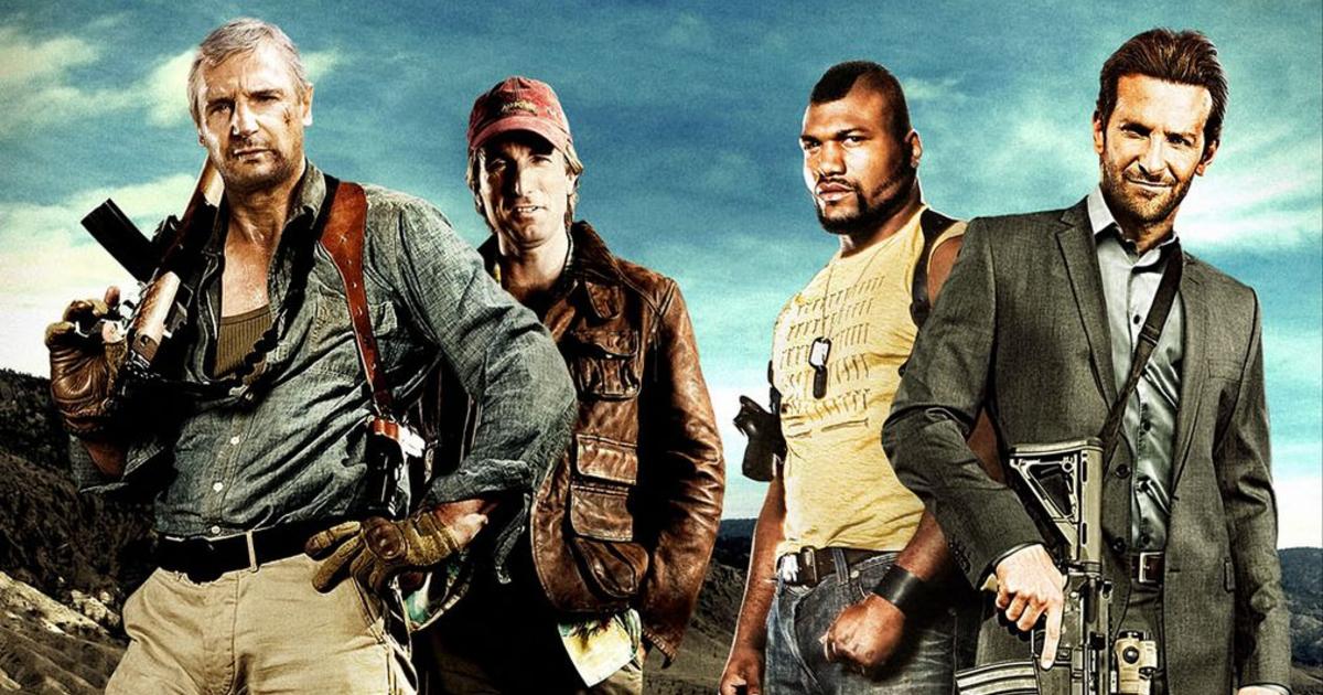 i quattro membri dell'a-team in posa - nerdface