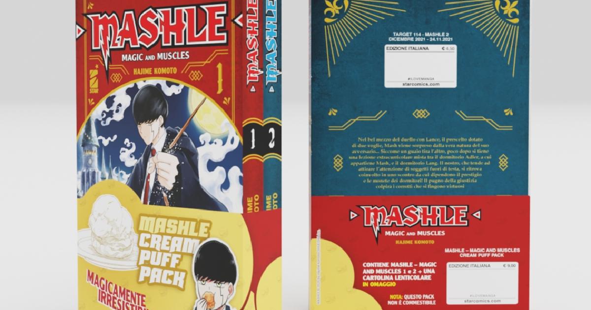 il packaging del box contenente i primi due numeri di mushle - nerdface