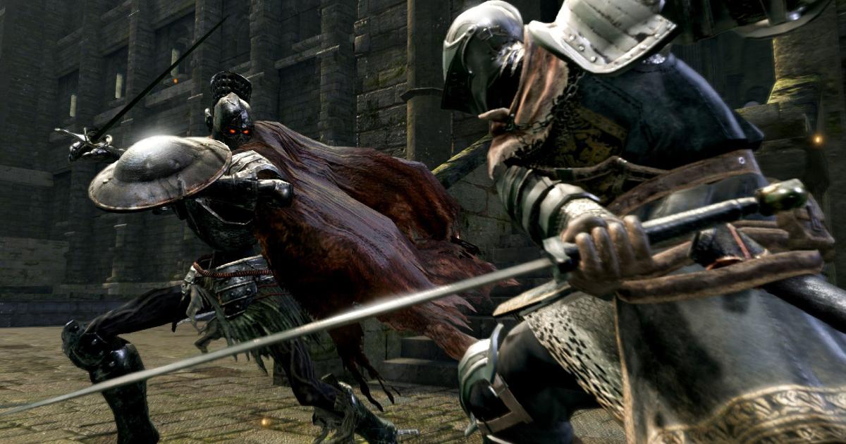 un cavaliere sta per morire contro un altro nemico - nerdface