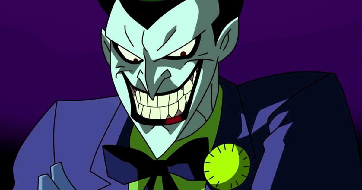il joker dei cartoni animati doppiato da mark hamill - nerdface