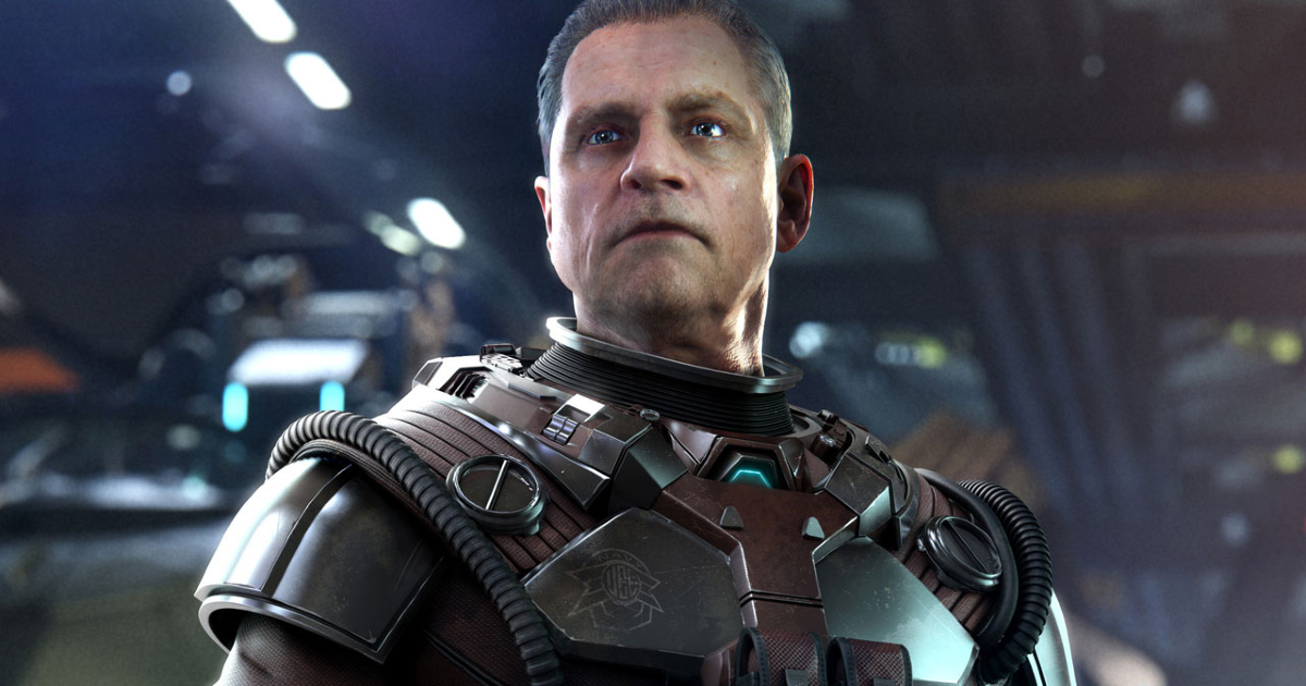 mark hamilll è un personagigo di un videogame in tuta spaziale - nerdface