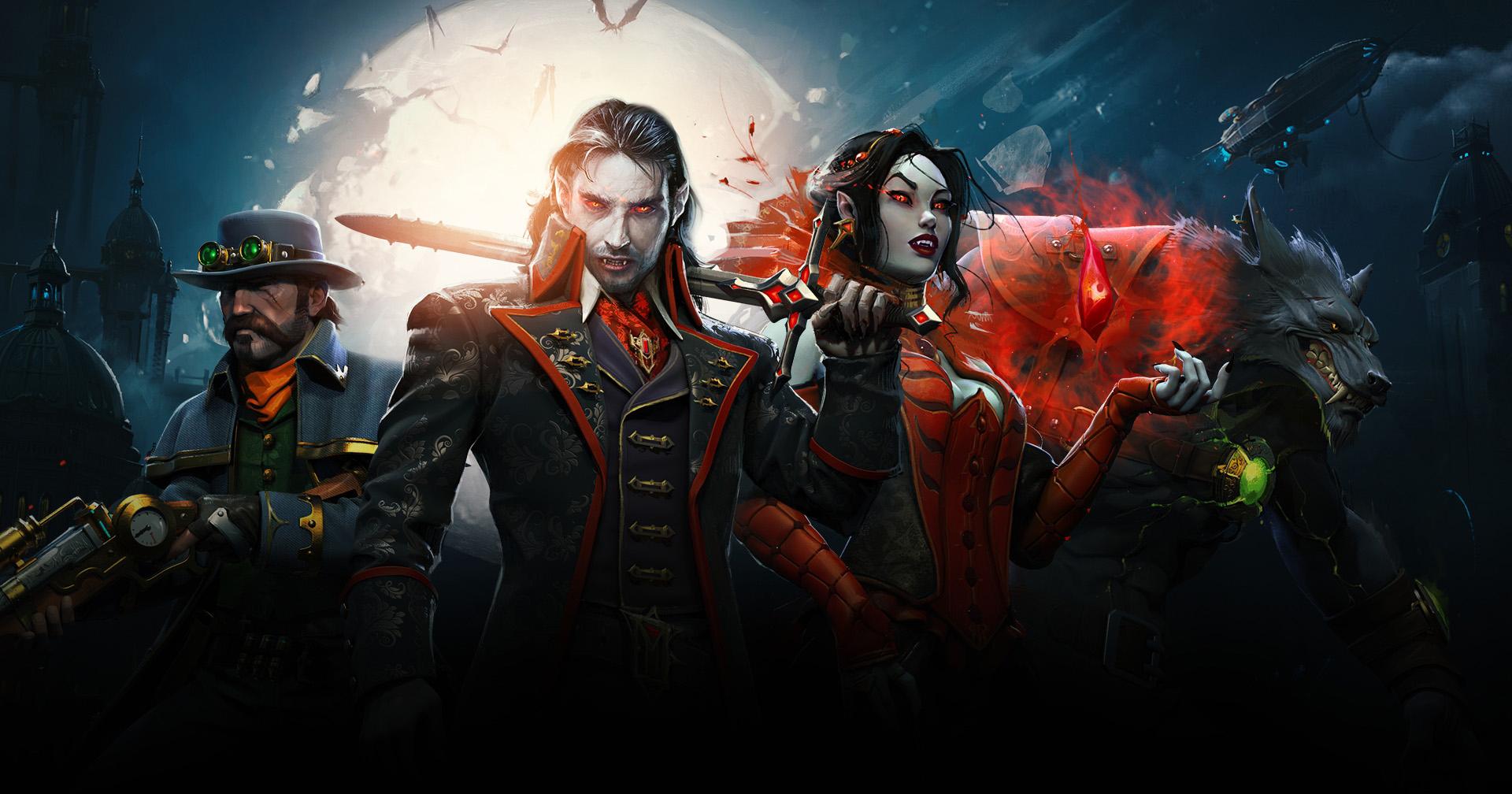 immagine promozionale di heroes of the dark
