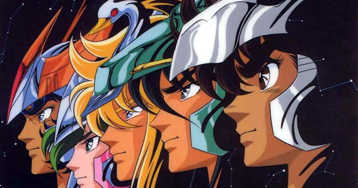 i volti dei cavalieri dello zodiaco dell'anime anni '80 - nerdface