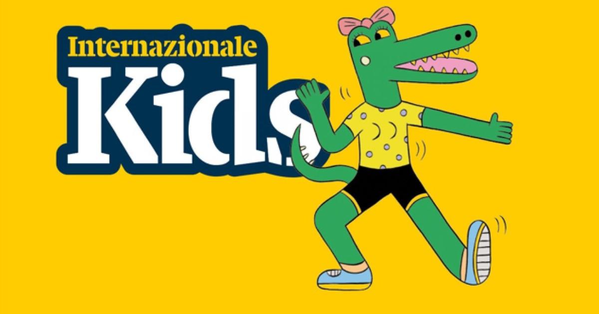 copertina di internazionale kids di reggio emilia - nerdface