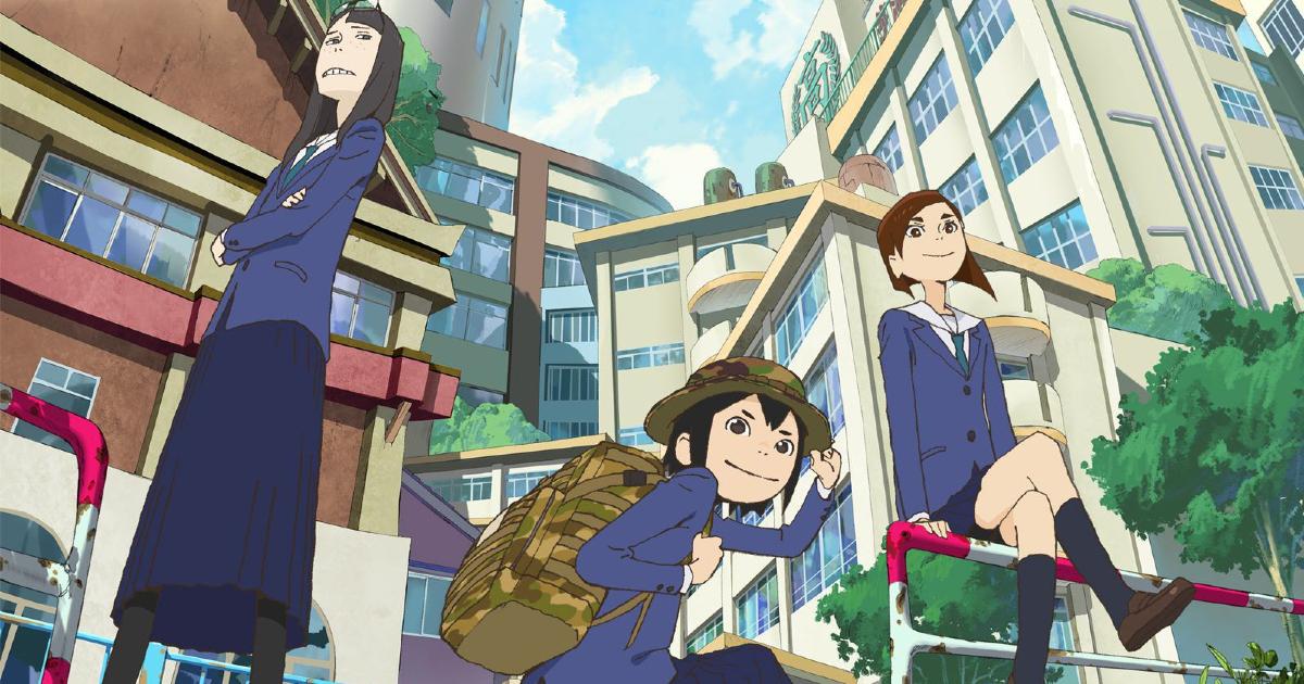 le tre protagoniste del manga - nerdface