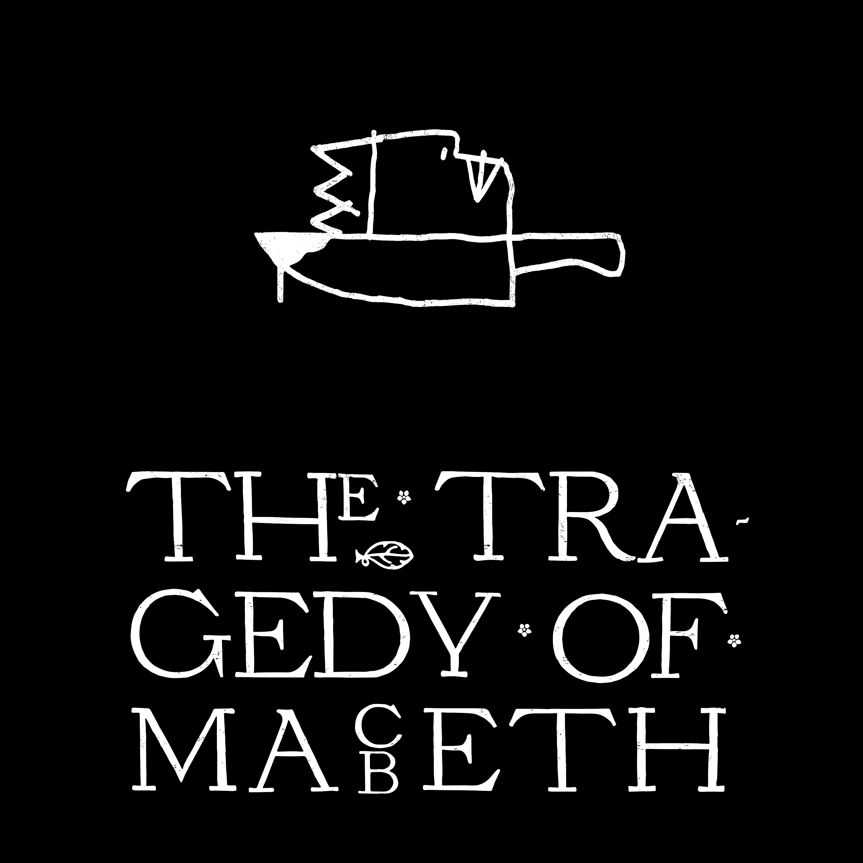 la key art grafica di the tragedy o macbeth - nerdface