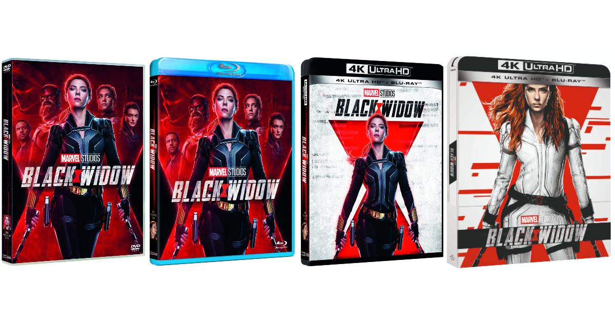 i quattro packaging di dvd blu-ray e 4k uhd del film - nerdface