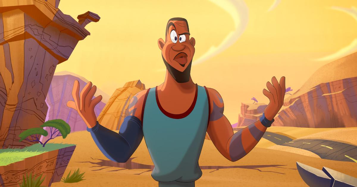 lebron james è diventato un cartone animato - nerdface
