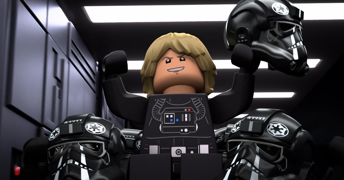 un lego skywalker vestito da pilota dell'impero? com'è possibile? - nerdface