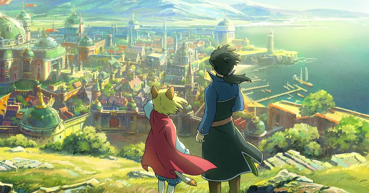 Due ragazzi guardano la città da un'altura - nerdface