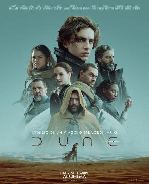 il poster ufficiale di dune di villeneuve - nerdface