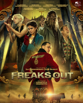 il poster ufficiale di freaks out - nerdface