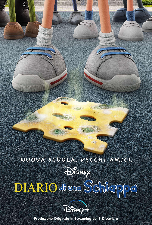poster ufficiale di diario di una schiappa - nerdface