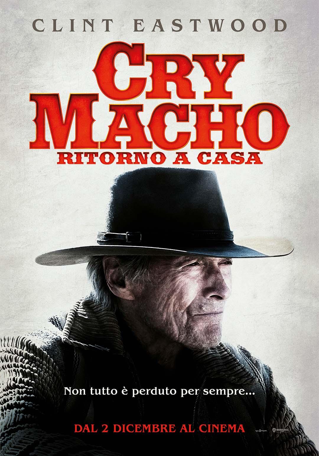 il poster ufficiale di cry macho ripropone clint eastwood in delle due espressioni citate da sergio leone, quella col cappello - nerdface