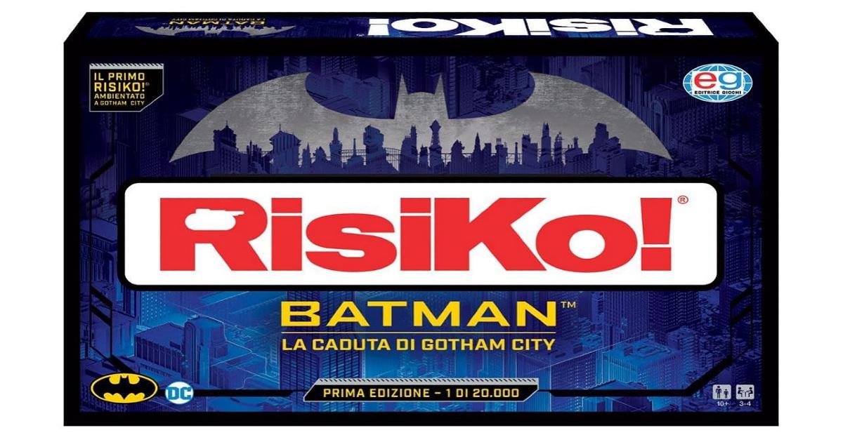 il box della versione limitata di risiko batman - nerdface