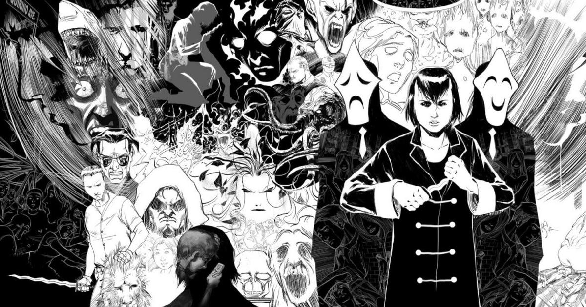 tutti i personaggi del primo numero di trese in un unico disegno - nerdface