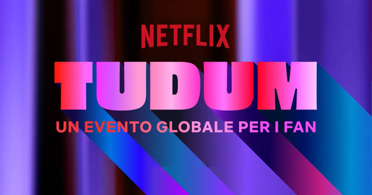 Il logo ufficiale dello show tudum - nerdface