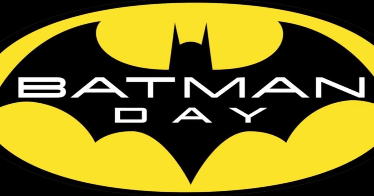 il logo del batman day - nerdface