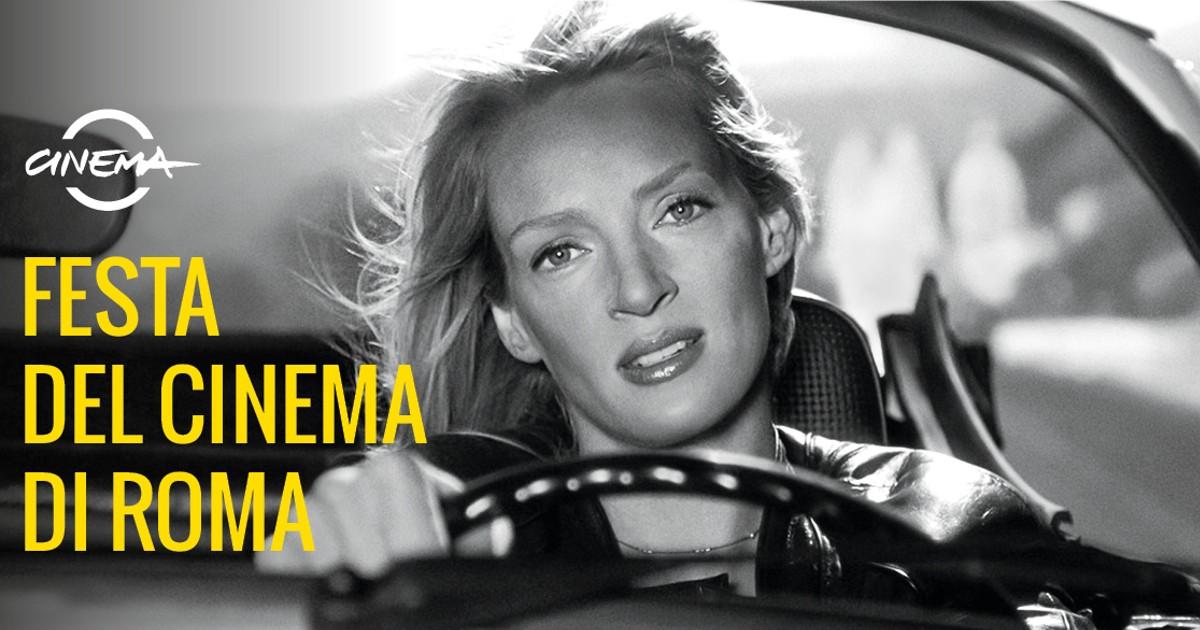 Uma Thurman nell'immagine ufficiale della festa del cinema di roma 2021 - nerdface