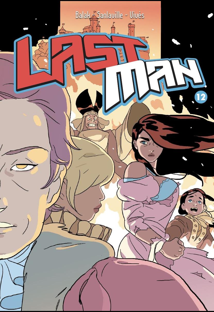 copertina del fumetto last man vol.12 - nerdface