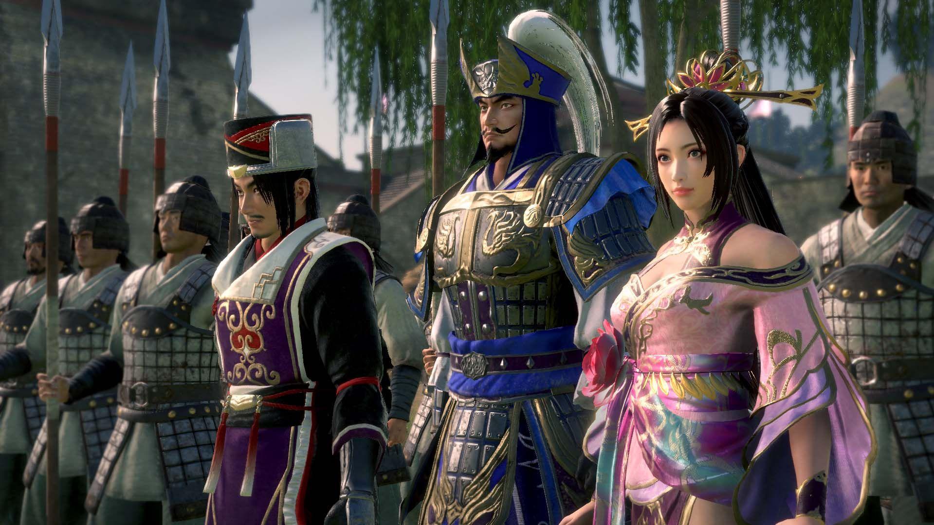 I protagonisti di Dynasty Warriors 9 Empires - nerdface