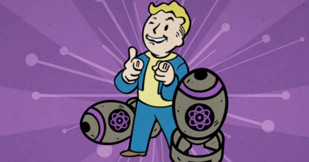 il personaggio di fallout 76 fa l'ok tra due bombe atomiche - nerdface