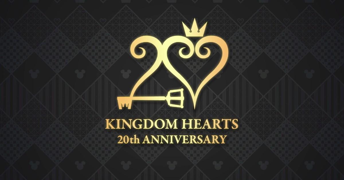 Il logo del ventesimo anniversario di Kingdom Hearts - nerdface