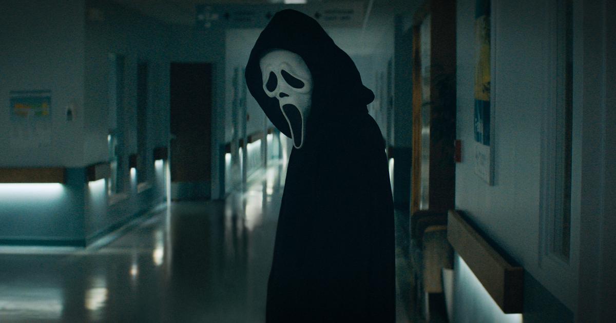 ghostface guarda indietro - nerdface
