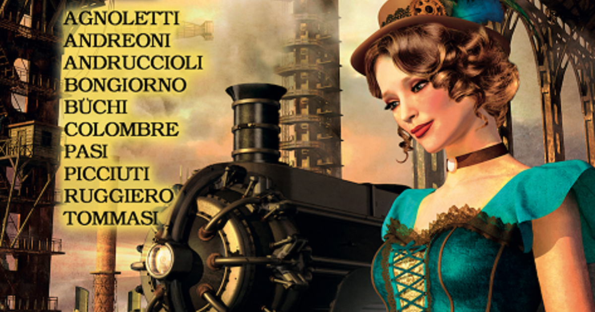 la cover di steam tales - nerdface