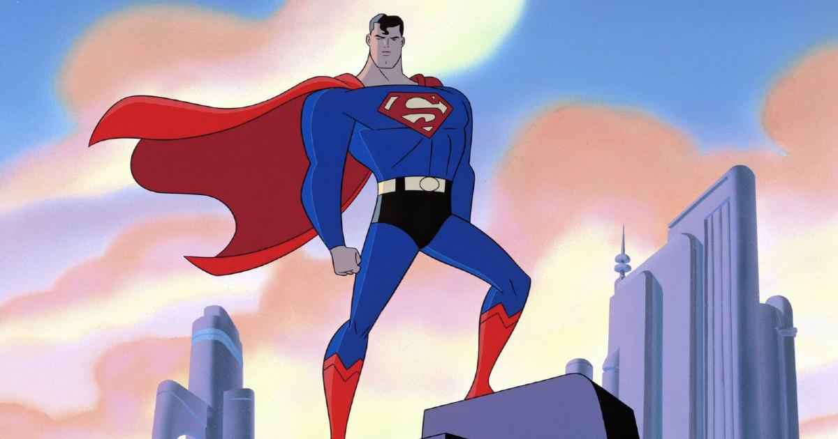 superman padroneggia metropolis dal tetto di un grattacielo - nerdface