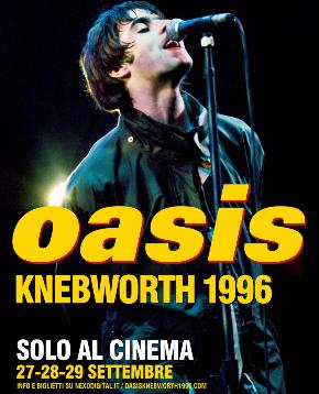 il poster del film immortala liam gallagher nella solita posa davanti il microfono - nerdface